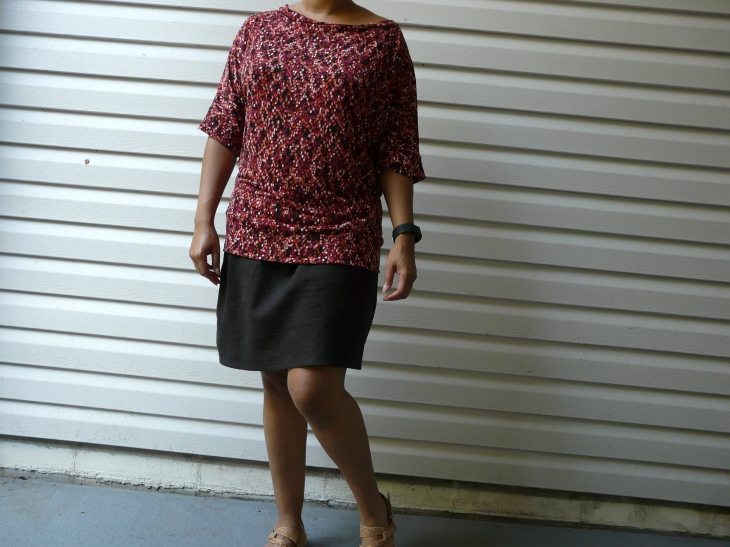 Cation Designs Dolman Tee and McCalls 3830 Skirt