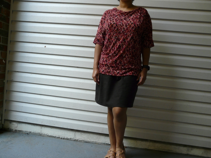 Cation Designs Dolman Tee and McCalls 3830 Skirt 2